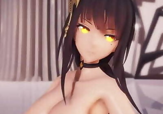 MMD SEX Kawaii Strike Empress Kangxi Gets Naked In Hibikase