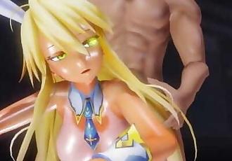 MMD SEX Fate Grand Order Artoria Pendragon Gets Doggystyled In Killer B