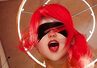Red head bondage suffocate ride pov rough public fetish 3d jap uncensored