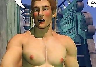 ADVENTURES OF CABIN BOY 3D Gay World Cartoon Comics or Gay Hentai Anime