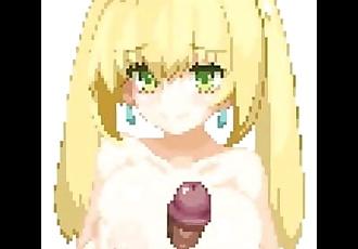 Fate/Grand Order - Nero Claudius paizuri and cumshot