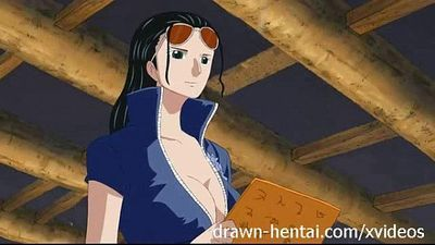 One Piece Hentai - Nico Robin - 6 min