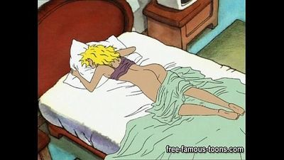 College lesbian girls cartoon hentai sex - 5 min