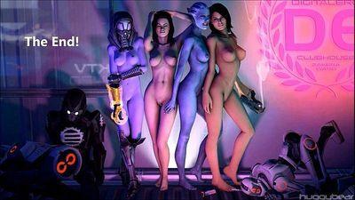 Mass Effect Girls Sexy Gifs - 13 min
