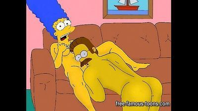 Simpsons porn parody - 5 min