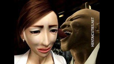 3D hentai MILF gets big tits tortured - 5 min