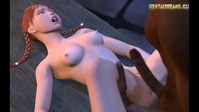 Hot Anime Redhead Fuck by Black Guy - More at WWW.HENTAIDREAMS.CLUB - 5 min