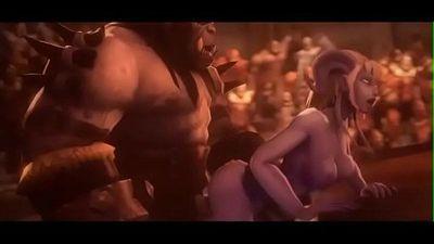 Hot Ogre Fuck - More at WWW.HENTAIDREAMS.CLUB - 6 min