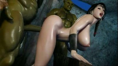 princess fucked in porn game - 3dxfun.com - 9 min
