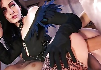The Witcher 3: Yennefer Getting Fucked Compilation