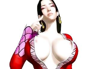 Horny 3D hentai babe gets nailed