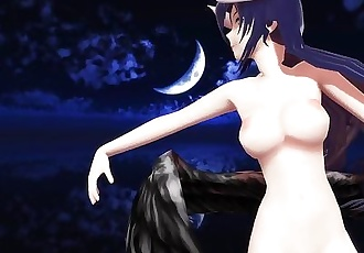 3D MMD Burning - Albedo
