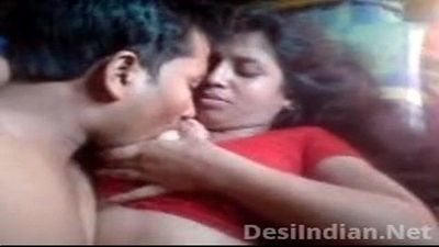 Desi Aunty Boobs Pressed Nipple Sucked - 8 min