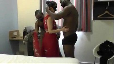Desi Wife Threesome - 20 min