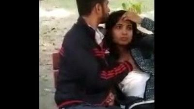 Couple caught in park - 2 min