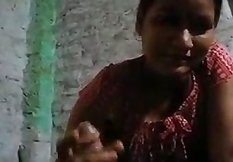Indian bhabi sucking dick and handjob - 47 sec