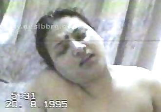 Indian aunty 1995 s.ex tape - 25 min