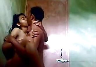 Desi teen fucking in shower - 10 min