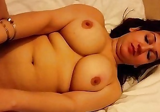 Super Hot n Sexy Desi Wife Boob Press & Pussy Show - 1 min 20 sec