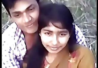 Cute Desi village girl boobs pressing by Narsingbari 4 min
