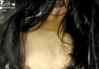 Dirty Hindi Talking Indian Bhabhi Blowjob Sex Riding on Dick POV Video