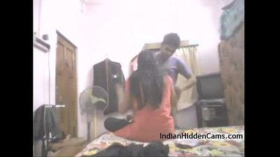 Real Indian College Couple Amateur Homemade Sex - IndianHiddenCams.com - 1 min 31 sec