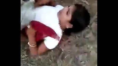 bihari randi fucked in open field mms - 3 min