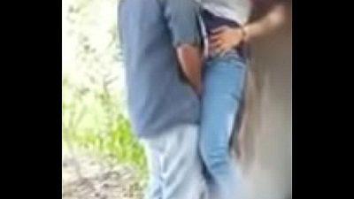 delhi college couple fucking in the park - 2 min