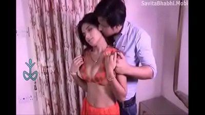 Hair Smelling - Bhabhi Devar And Husband - 2 min