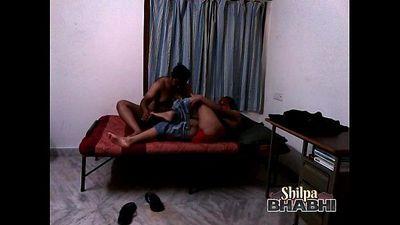 Shilpa Bhabhi Indian Wife Hardcore Amateur Sex - 2 min