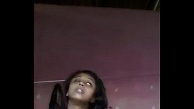 South Indian mallu girl Anjusha self made clip leaked by her bf - 41 sec