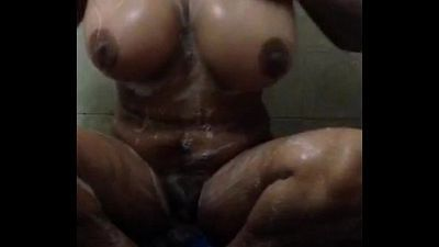 desi indian girl masturbating & bathing selfshoot - 50 sec