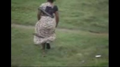 Village Women Caught Washing Her Ass - 2 min