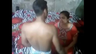 Desi Aunty Caught By Handy Camera - 6 min