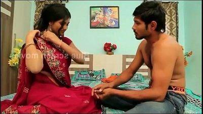 game of romance//indain beautiful housewife remove saree - 9 min
