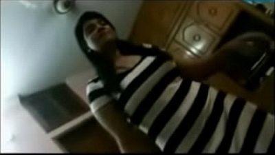 Desi Indian Homemade Couple Sex Tape - HornySlutCams.com - 15 sec