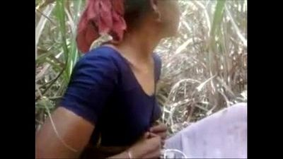 Indian Desi Village Aunty Getting Fucked Outdoor - Wowmoyback - 8 min
