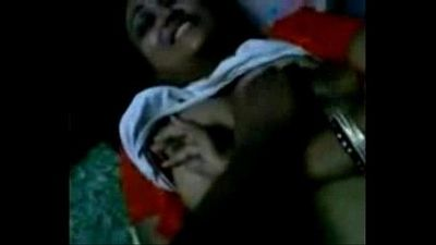 Cheating Bengali wife getting her boobs pressed, talking dirty in Bengali - 5 min