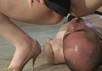 MLDO-070 Domestic animal person unguestioning obedience breeding. Mistress Land - 2 min