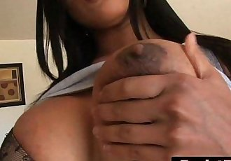 Gorgeous Exotic Beauty Allanah Li Shows Professional Cock Sucking SkillsHD