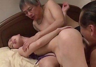 Misaki Yoshimura really loves fucking in threesome - 12 min