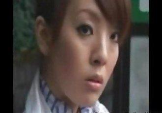 Japanies air hostress girl fuck by strangers from sanjh - 15 min
