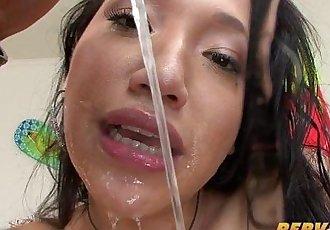 PervCity Hot Asian-Latina Blowjob Overdose - 11 min HD