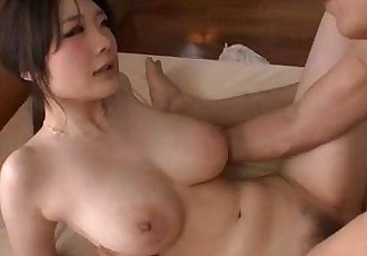 Sexy Rie Tachikawa shakes tits while fucking hard - 12 min