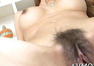 Milf oriental slut and 3 dicks - 5 min