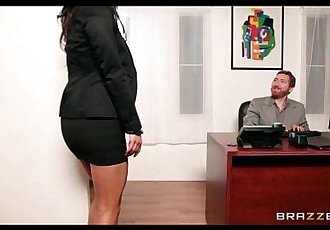 Sexy big-tit Asian bombshell cheats on her man with a co-worker - 7 min HD