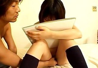 Slutty Riho shows off her nasty side - 8 min