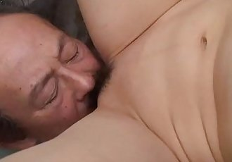 Filthy cheating wife getting her pussy eaten by the dude - 54 sec