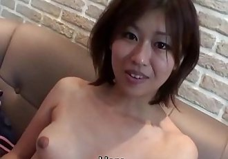Subtitled uncensored Japanese Osaka amateur blowjob in HD - 5 min HD