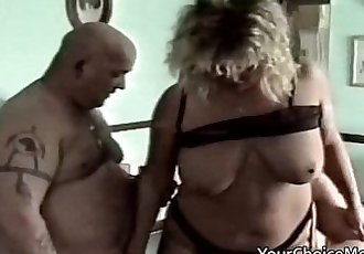 Wife sharing with two friends - 7 min HD